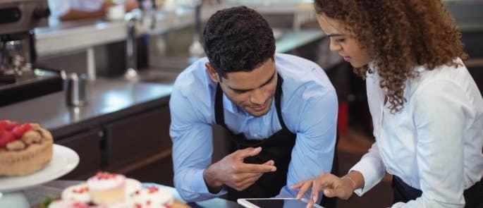 Multitasking skills in hospitality