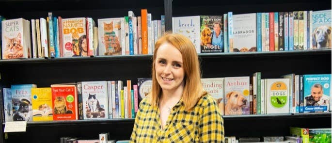 Becky Oljanuk from Waterstones