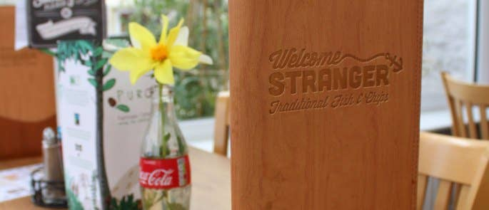 Welcome Stranger menu