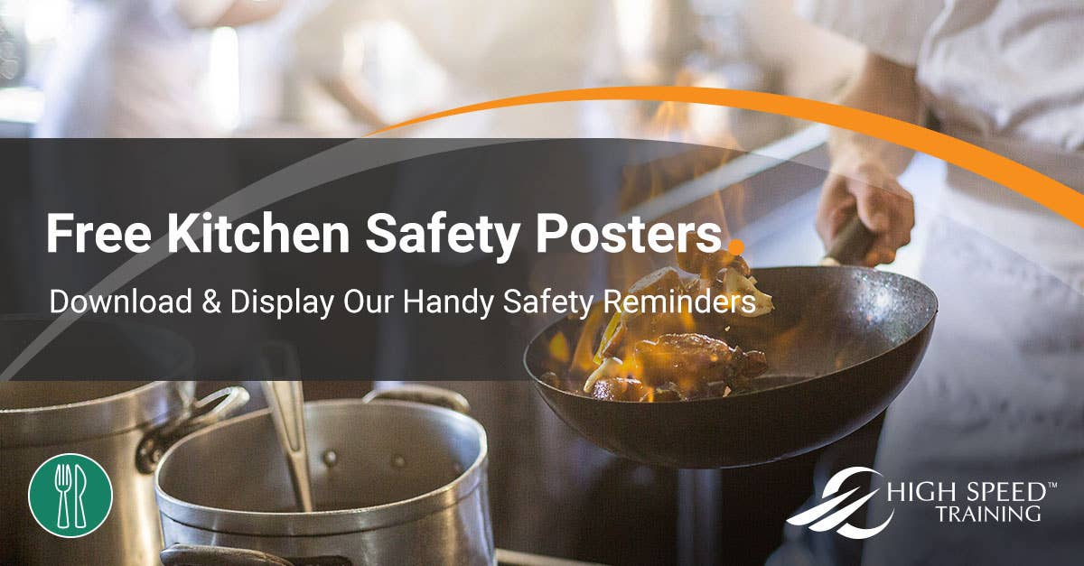 Kitchen Safety Posters Free For Commercial Kitchens