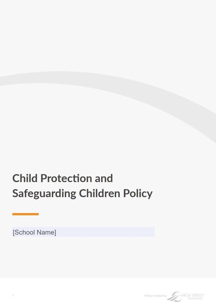 Safeguarding Policy Template for Schools Page 1
