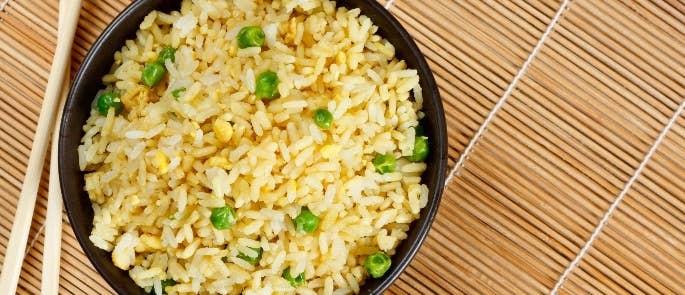 Bowl of egg fried rice