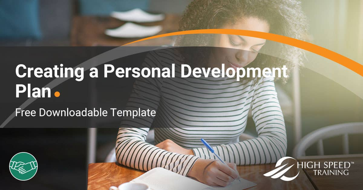 Free Personal Development Plan Pdp Example Template Pdf