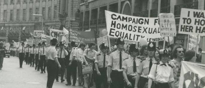 Gay Pride March 1974