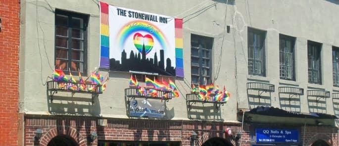 Stonewall Inn LGBTQ+ history landmark