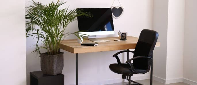 Home working office desk