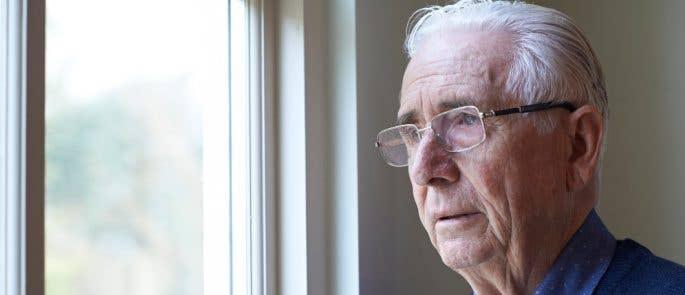 Elderly man worried about discriminatory abuse