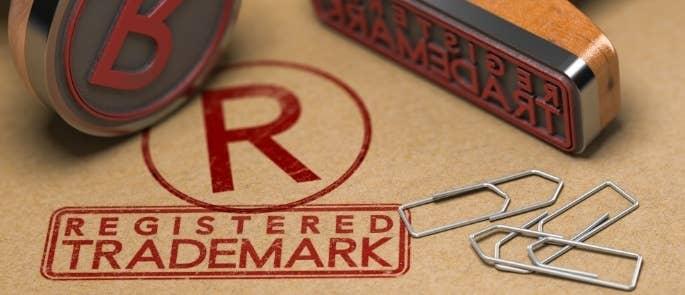 Registered Trade Mark Stamp