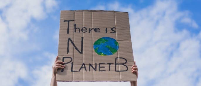 Protest for sustainability